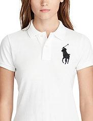 Polo Ralph Lauren - Skinny-Fit Big Pony Polo Shirt - polo shirts - white/navy pp - 7