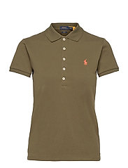 Slim Fit Polo Shirt - DEFENDER GREEN/C2