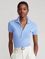Polo Ralph Lauren - Slim Fit Polo Shirt - poloskjorter - harbor island blu - 0