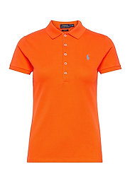 Slim Fit Polo Shirt - RESORT ORANGE