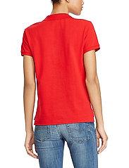 Polo Ralph Lauren - Slim Fit Polo Shirt - polo shirts - rl2000 red/navy p - 3