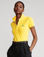 Polo Ralph Lauren - Slim Fit Polo Shirt - poloskjorter - yellowfin - 0