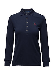 Skinny-Fit Stretch Mesh Polo Shirt - CRUISE NAVY