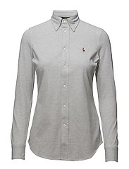 Slim Fit Oxford Shirt - ANDOVER HEATHER