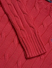 Polo Ralph Lauren - Cable-Knit Cotton Sweater - trøjer - coral - 3
