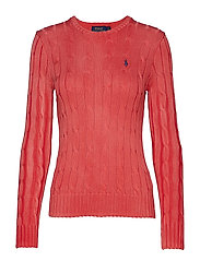 Cable-Knit Crewneck Sweater - CORALLO