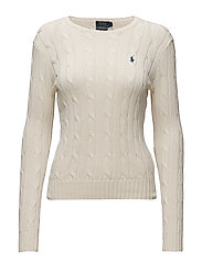 Cable-Knit Cotton Sweater - CREAM