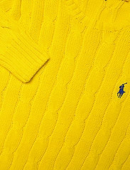 Polo Ralph Lauren - Cable-Knit Cotton Sweater - trøjer - elite yellow - 3