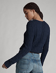 Polo Ralph Lauren - Cable-Knit Cotton Sweater - trøjer - hunter navy - 4