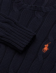 Polo Ralph Lauren - Cable-Knit Cotton Sweater - trøjer - hunter navy - 3
