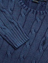 Polo Ralph Lauren - Cable-Knit Cotton Sweater - jumpers - indigo - 2