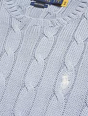 Polo Ralph Lauren - Cable-Knit Cotton Sweater - trøjer - pale blue - 2
