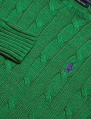 Polo Ralph Lauren - Cable-Knit Cotton Sweater - trøjer - preppy green - 2