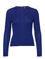 Cable-Knit Cotton Sweater - RUGBY ROYAL