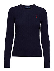 Wool-Cashmere Crewneck Sweater - HUNTER NAVY
