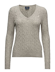 Cable Wool-Cashmere Sweater - LIGHT VINTAGE H