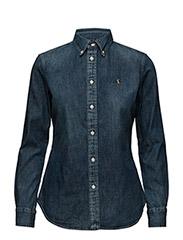 Custom-Fit Denim Shirt - BLAINE WASH