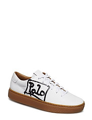 Court 125 Leather Sneaker - WHITE/BLACK