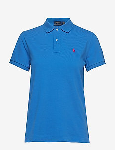 Classic Fit Mesh Polo Shirt - COLBY BLUE