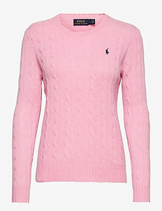 Cable Wool-Cashmere Sweater - trøjer - course pink
