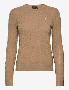 Cable Wool-Cashmere Sweater - jumpers - luxury beige heat
