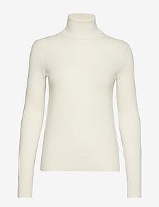 Cashmere Turtleneck Sweater - CREAM
