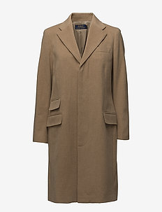 CHSTFLC CT-WOOL-COAT - CAMEL