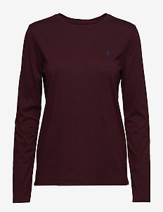 Cotton Long-Sleeve T-Shirt - ITALIAN RED