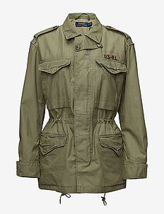 Twill Military Jacket - ARMY OLIVE