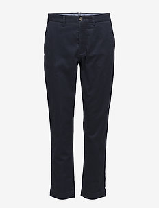 Stretch Twill Cropped Pant - AVIATOR NAVY