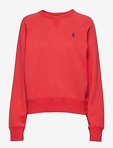 Fleece Pullover - EVENING POST RED