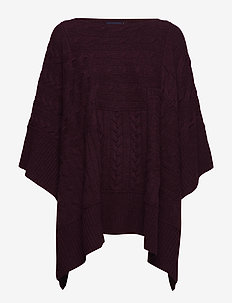 WOOL/CASHMERE BLEND-ELB-SWT - ELDERBERRY HEATHE