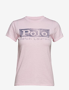 Logo Jersey Graphic T-Shirt - COUNTRY CLUB PINK