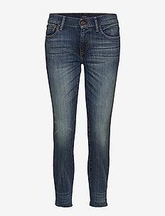 Tompkins Skinny Crop Jean - skinny jeans - dark indigo