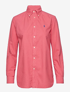 GD LT WT OXFORD-LSL-SHT - NANTUCKET RED