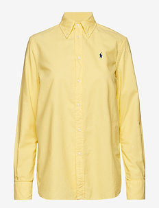 GD LT WT OXFORD-LSL-SHT - OASIS YELLOW