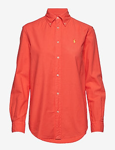 GD LT WT OXFORD-LSL-SHT - RACING RED