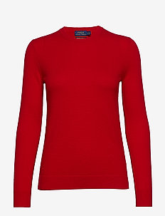 CASHMERE JERSEY-LSL-SWT - MARTIN RED