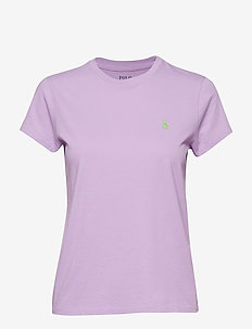 Cotton Crewneck T-Shirt - CLUB PURPLE