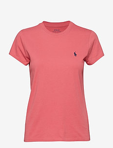 Cotton Crewneck T-Shirt - NANTUCKET RED