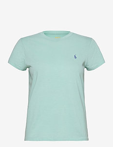 Cotton Jersey Crewneck Tee - t-shirts - parakeet