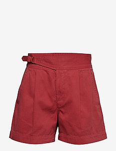Buckled Chino Short - NANTUCKET RED