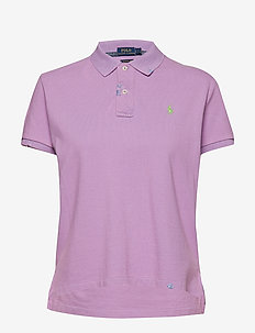 Classic Fit Cotton Polo Shirt - CLUB PURPLE