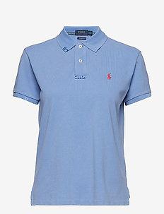 Classic Fit Cotton Polo Shirt - LAKE BLUE