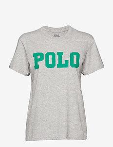Big Fit Polo Cotton T-Shirt - COBBLESTONE HEATH