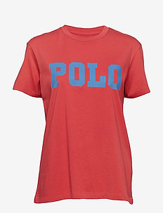 Big Fit Polo Cotton T-Shirt - NANTUCKET RED