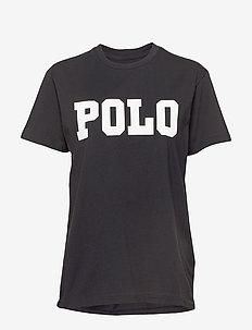 Big Fit Polo Cotton T-Shirt - POLO BLACK