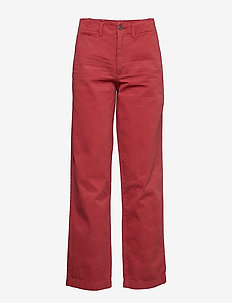 Relaxed Chino Pant - NANTUCKET RED