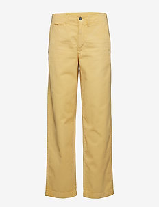 Relaxed Chino Pant - OASIS YELLOW