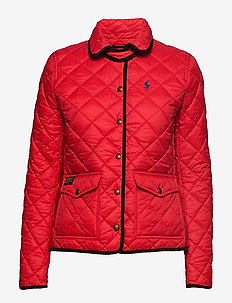 Quilted Jacket - INJECTION RED